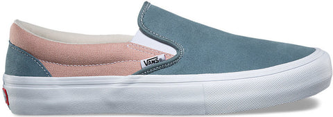 FOOTWEAR / VANS / SLIP-ON PRO - GOBLIN BLUE/MAHOGANY ROSE
