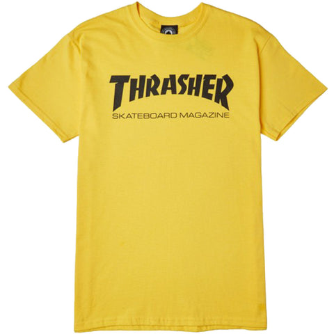 T-SHIRTS / THRASHER / SKATE MAG - YELLOW