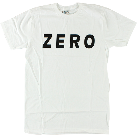 T-SHIRTS / ZERO / ARMY LOGO - WHITE