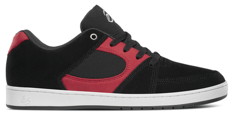 FOOTWEAR / éS / ACCEL SLIM - BLACK/RED/WHITE