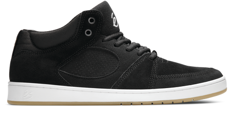FOOTWEAR / éS / ACCEL SLIM MID - BLACK/WHITE/GUM