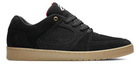 FOOTWEAR / éS / ACCEL SLIM - BLACK/GUM
