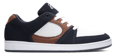 FOOTWEAR / éS / ACCEL SLIM - NAVY/TAN/WHITE