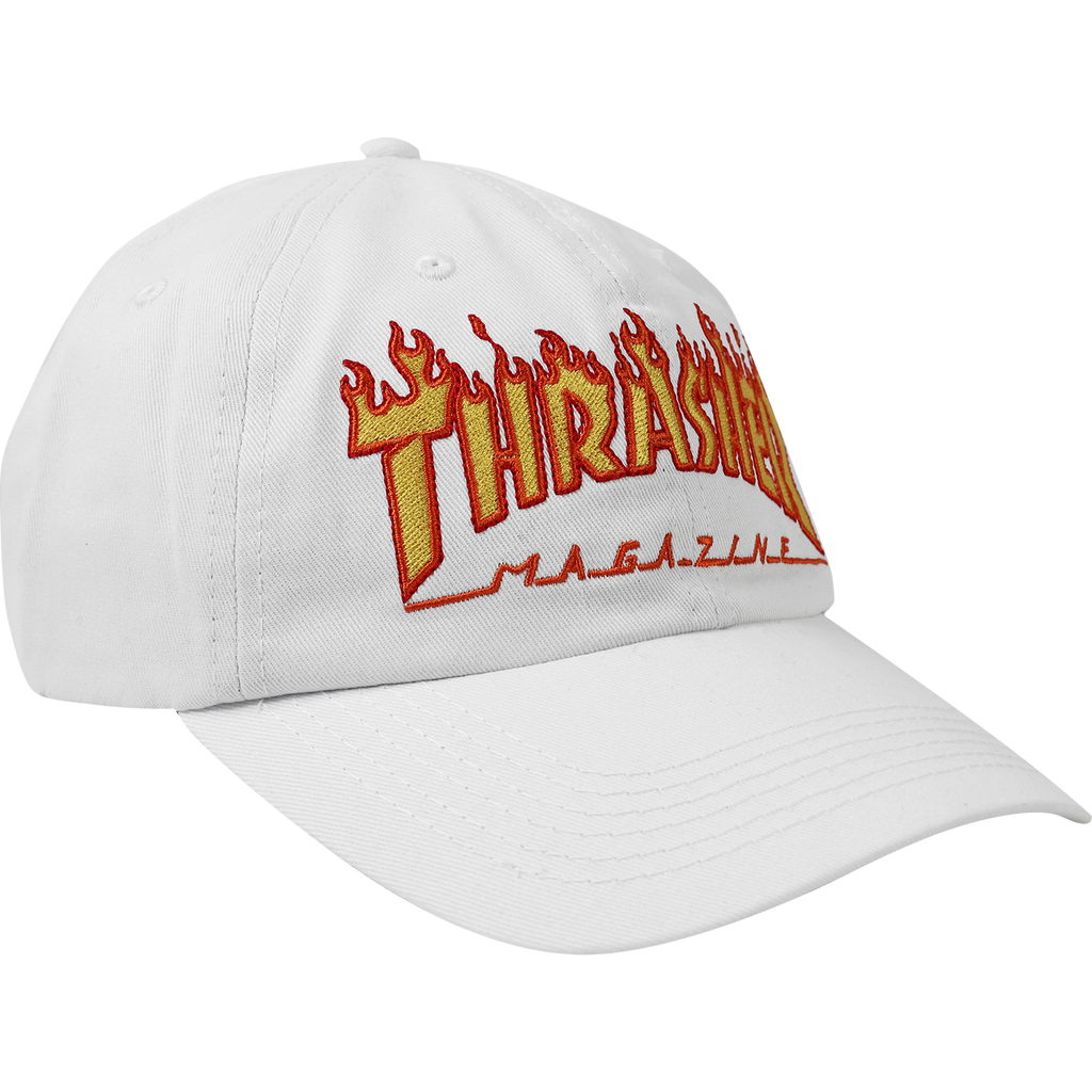 HATS / THRASHER / FLAME / OLD TIMER - WHITE