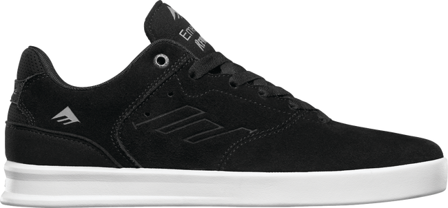 FOOTWEAR / EMERICA / REYNOLDS LOW - BLACK/SILVER