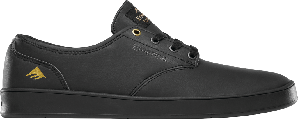 FOOTWEAR / EMERICA / THE ROMERO LACED - BLACK (LEATHER)