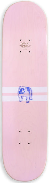 DECKS / QUASI / JOCK TWO WHITEWASHED PINK - 8.25""