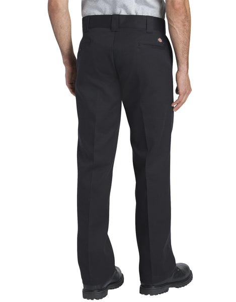 PANTS / DICKIES / FLEX SLIM FIT / STRAIGHT LEG WORK PANT - BLACK