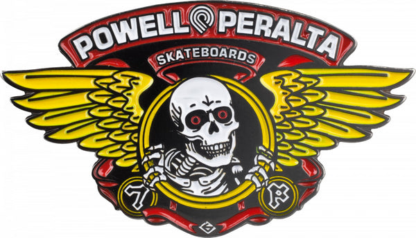 HAT PINS / POWELL PERALTA / WINGED RIPPER (FREE SHIPPING ITEM)