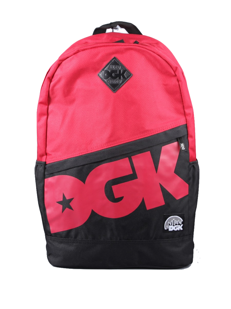 BACKPACKS / DGK / ANGLE 2 - DARK RED