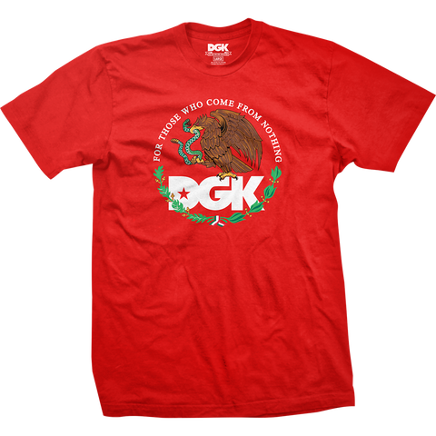 T-SHIRTS / DGK / FAMILIA - RED