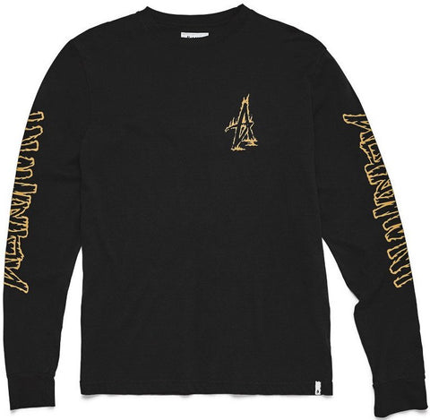 LONG SLEEVE / ALTAMONT / FIRE - BLACK