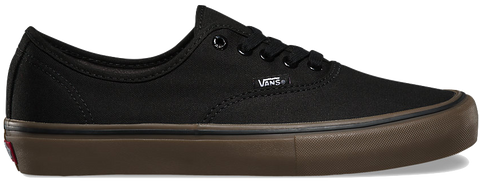 FOOTWEAR / VANS / AUTHENTIC PRO - BLACK/GUM