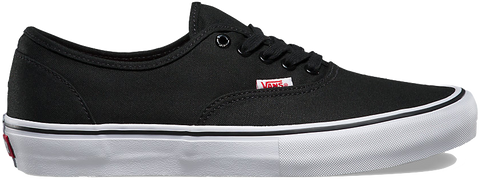 FOOTWEAR / VANS / AUTHENTIC PRO - BLACK/WHITE