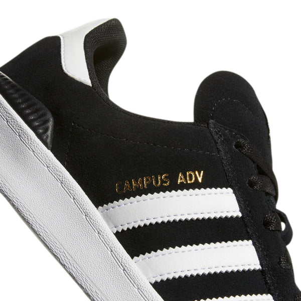 FOOTWEAR / adidas / CAMPUS ADV - CORE BLACK/WHITE/WHITE