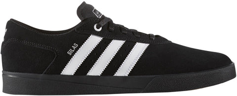 FOOTWEAR / adidas / SILAS VULC ADV - CORE BLACK/RUNNING WHITE/METALLIC SILVER