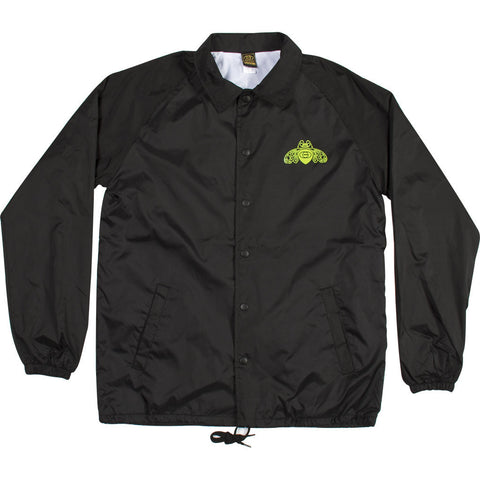 JACKETS / GOLD / BEE COACHES JACKET - BLACK