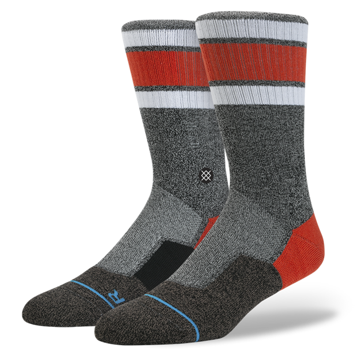 SOCKS / STANCE / BERKLEY - GREY (FUSION SKATE)