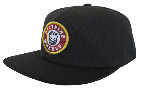 HATS / SPITFIRE / CLASSIC BIGHEAD PATCH - BLACK