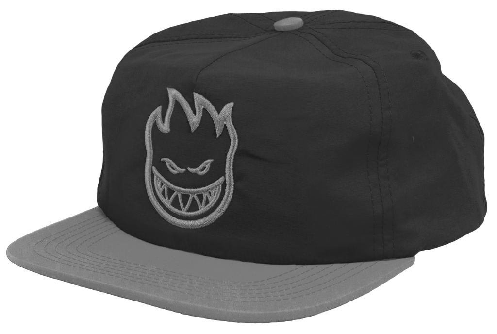HATS / SPITFIRE / BIGHEAD UNSTRUCTURED - BLACK/GREY