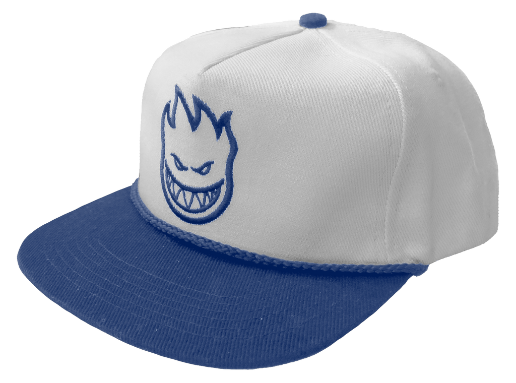 HATS / SPITFIRE / BIGHEAD UNSTRUCTURED - WHITE/ROYAL