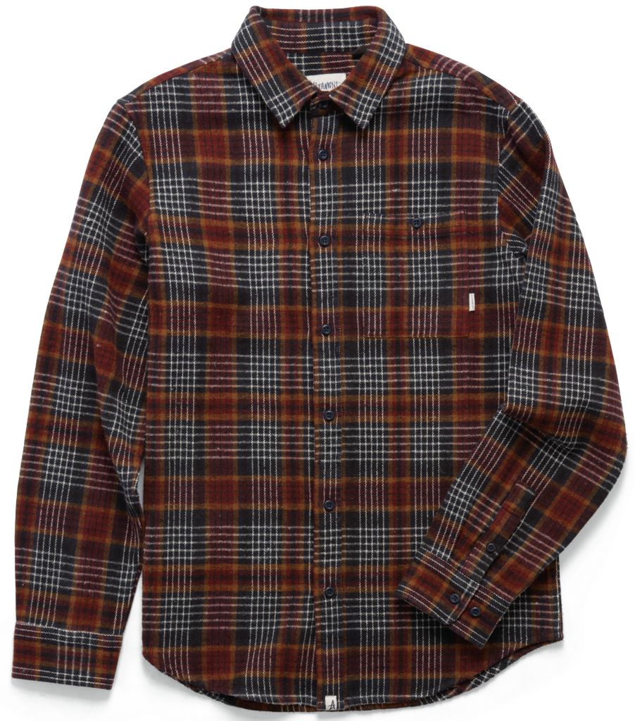 FLANNELS / ALTAMONT / BINARY - DARK NAVY