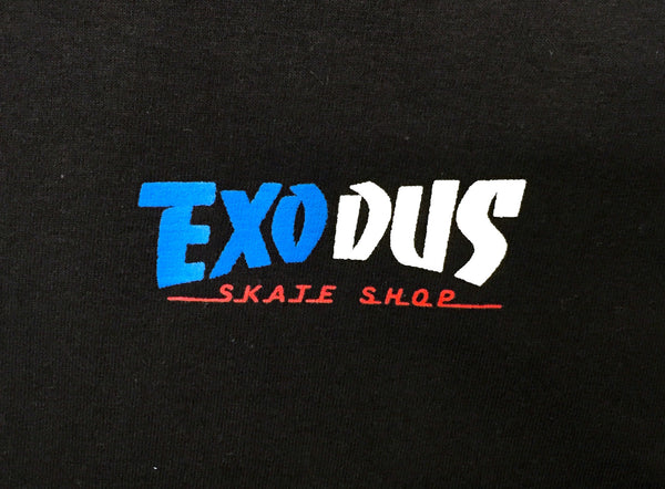 T-SHIRTS / EXODUS / THRASHIN' - BLACK/USA
