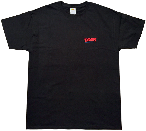 T-SHIRTS / EXODUS / THRASHIN' - BLACK/RED/BLUE