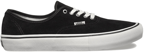 FOOTWEAR / VANS / AUTHENTIC PRO - BLACK (SUEDE)