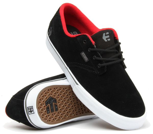 FOOTWEAR / ETNIES / JAMESON VULC - BLACK