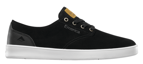 FOOTWEAR / EMERICA / THE ROMERO LACED - BLACK/BLACK/WHITE