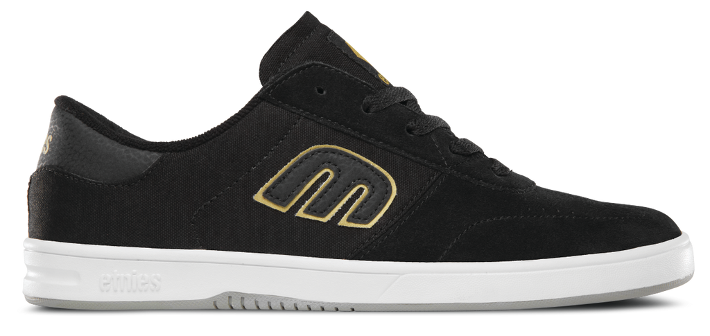 FOOTWEAR / ETNIES / LO-CUT - BLACK/GOLD/GREY