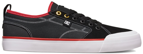 FOOTWEAR / DC / EVAN SMITH M - BLACK/RED/WHITE