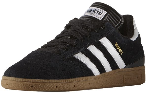 FOOTWEAR / adidas / BUSENITZ - BLACK/WHITE/METALLIC GOLD