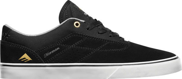 FOOTWEAR / EMERICA / HERMAN G6 VULC - BLACK/WHITE
