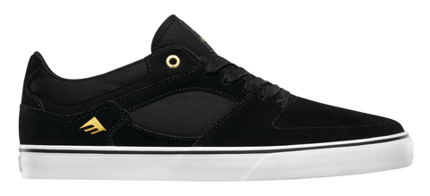 FOOTWEAR / EMERICA / HSU LOW VULC - BLACK/WHITE