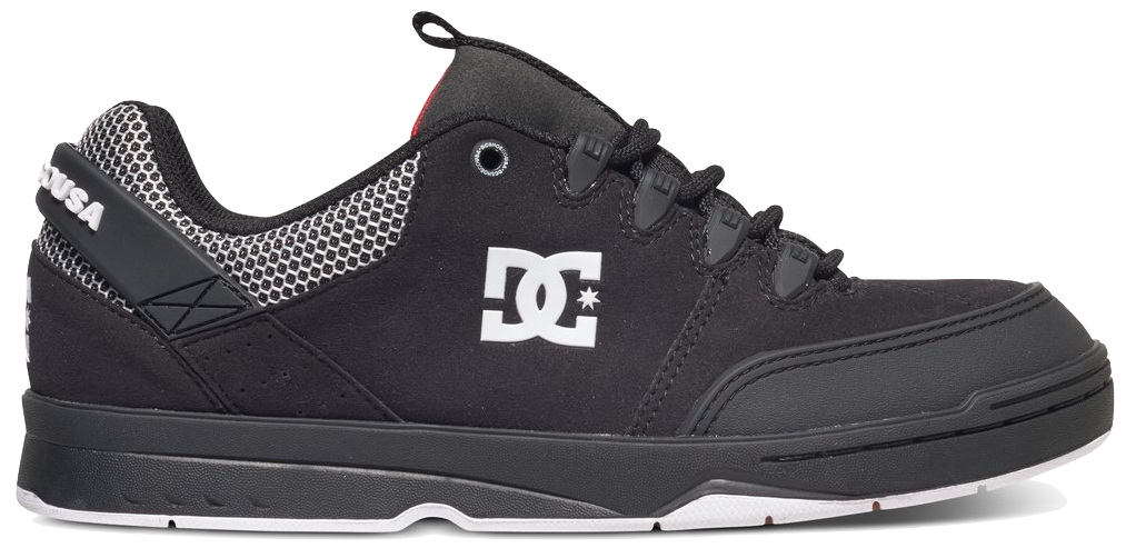 FOOTWEAR / DC / SYNTAX - BLACK/WHITE/RED