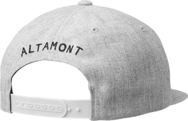 HATS / ALTAMONT / BOHR BALL CAP - GREY/BLACK