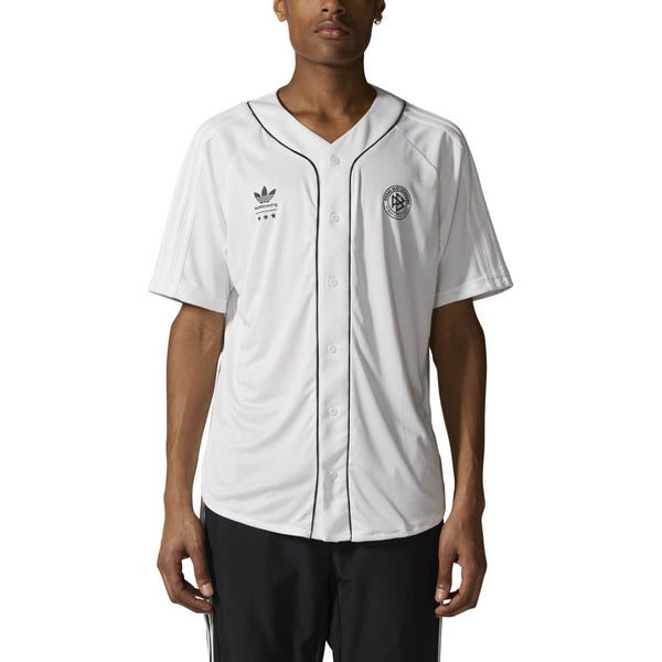 BASEBALL JERSEYS / ADIDAS / BASEBALL JERSEY - WHITE