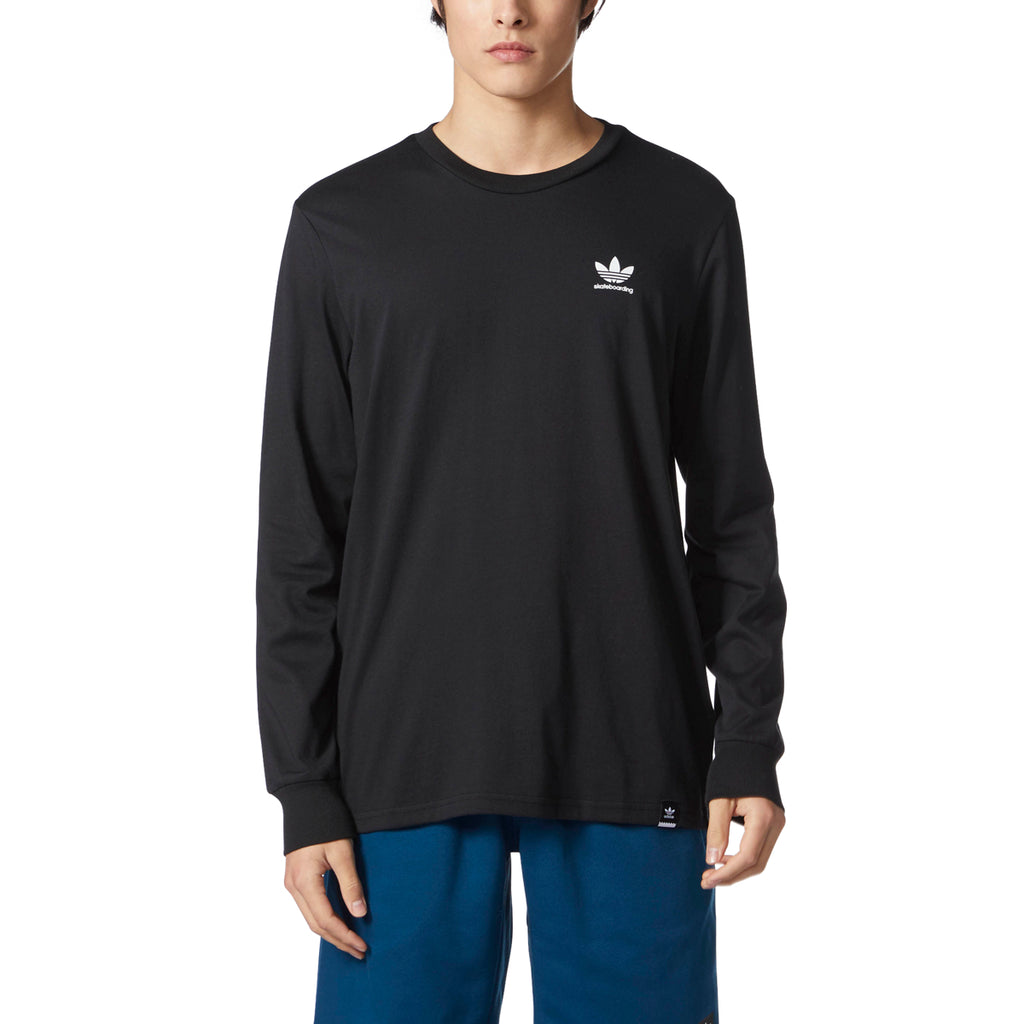 LONG SLEEVE T-SHIRTS / ADIDAS / CLIMA 2.0 LONG SLEEVE - BLACK/WHITE