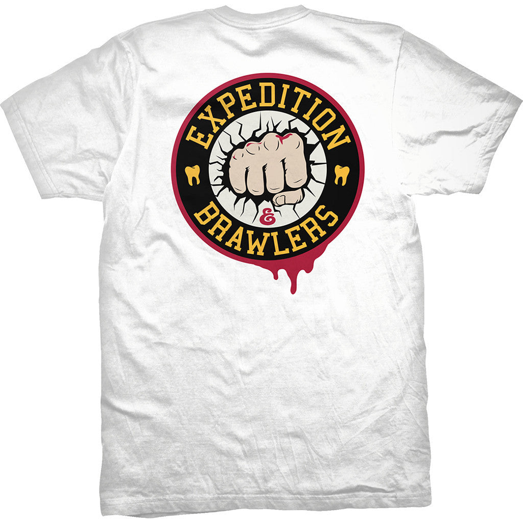 T-SHIRTS / EXPEDITION / BRAWLERS - WHITE