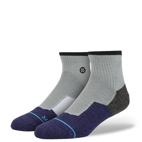 SOCKS / STANCE / BRIDGE - GREY (FUSION SKATE)