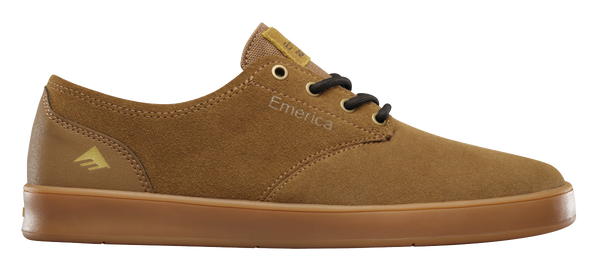 FOOTWEAR / EMERICA / THE ROMERO LACED - BROWN/GUM/BROWN