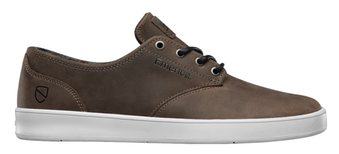 FOOTWEAR / EMERICA / THE ROMERO LACED - BROWN/WHITE (ESWIC)