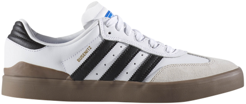 FOOTWEAR / adidas / BUSENITZ VULC SAMBA EDITION - WHITE/BLACK/BLUE