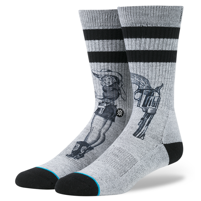 SOCKS / STANCE / BUSHLEAGUE - GREY