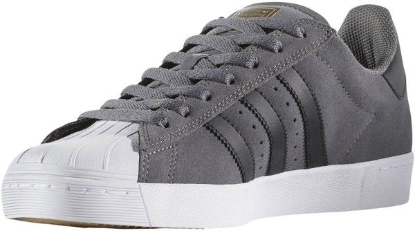 FOOTWEAR / adidas / SUPERSTAR VULC ADV - GREY FOUR/CORE BLACK/GOLD METALLIC