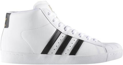 FOOTWEAR / adidas / PRO MODEL (SUPERSTAR) VULC ADV - WHITE/CORE BLACK/GOLD METALLIC