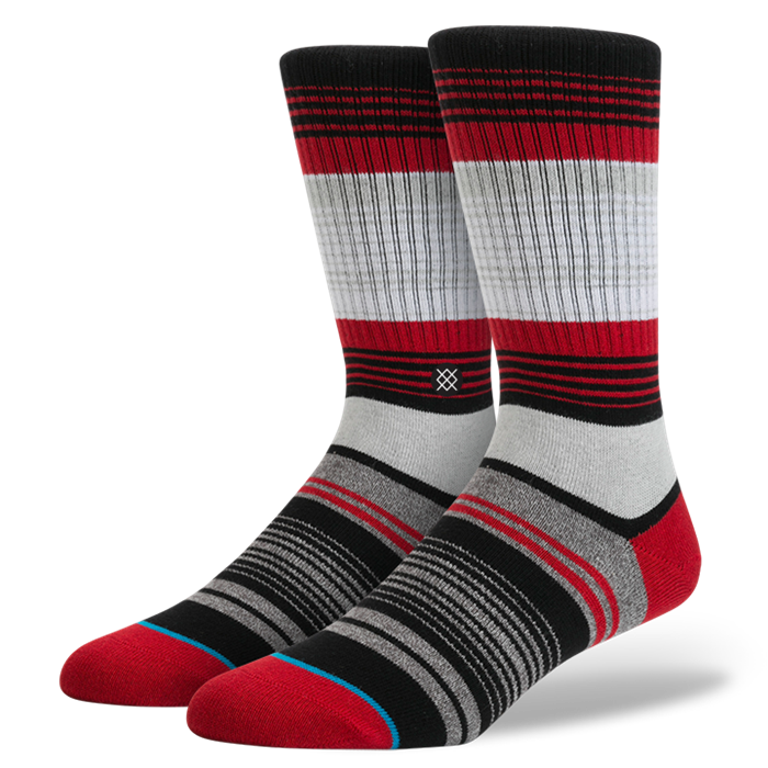 SOCKS / STANCE / CARDINAL - RED