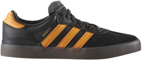 FOOTWEAR / adidas / BUSENITZ VULC SAMBA EDITION - CORE BLACK/NATURAL/ORANGE